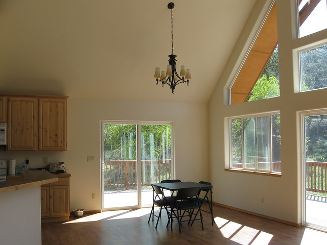 dining room living room vaulted ceiling flickr photo