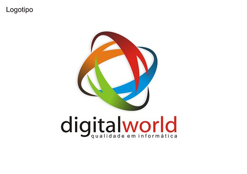 logo digital world : reformulau00e7u00e3o no logo : Junior Jordu00e3o ...