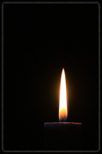 candle in the dark | by pratanti