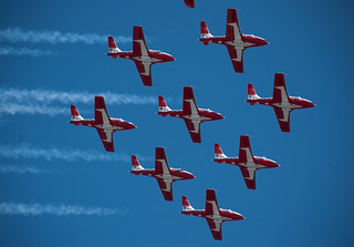Snowbirds Diamond formation 2 | by cetaylor
