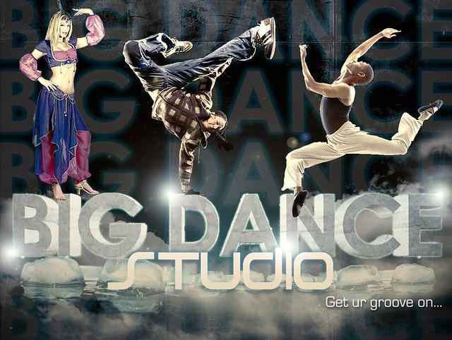 The Big Dance Studio Poster