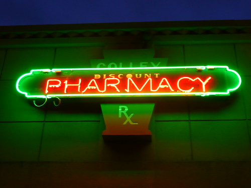 Norfolk, VA Colley Pharmacy neon sign | by army.arch