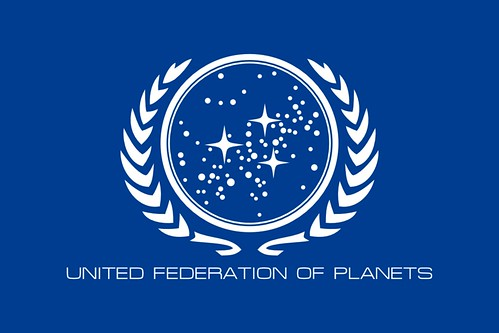 United Federation of Planets Flag depiction