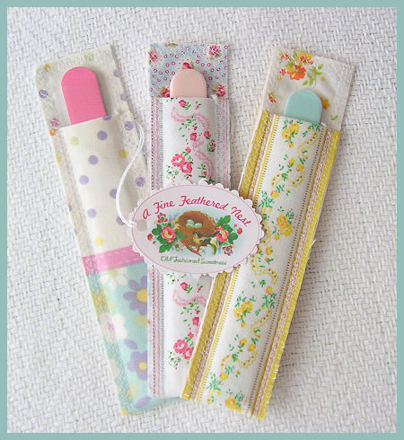 Emery Board Nail File Sleeves | by debster222