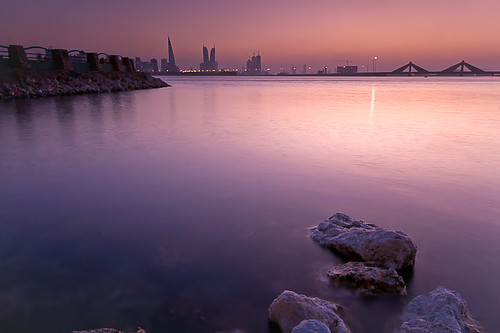@The Bay after Sunset | by ©Helminadia Ranford