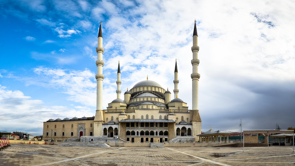 Ankara S Kocatepe Mosque Ankara S Largest Mosque Was