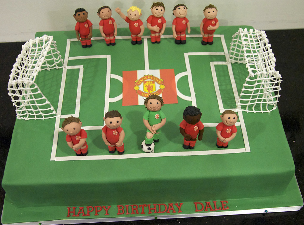 Birthday Cakes For Girls That Are Soccer