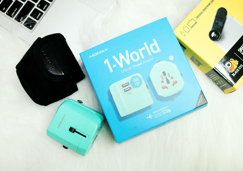 6 Digital Walker Products Review - Momax USB AC Travel Adapter - Gen-zel.com (c)