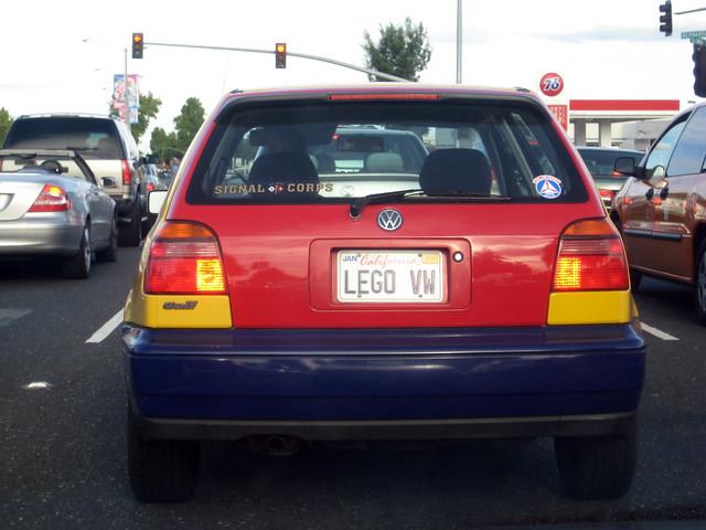 Lego Volkswagen Harlequin