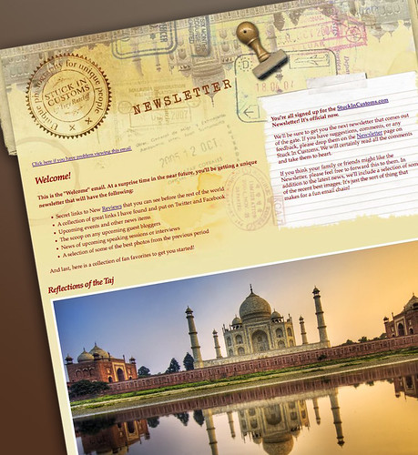 The Stuck in Customs Newsletter | by Trey Ratcliff