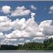 Mountain cloud build up