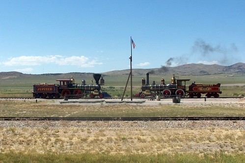 Steam Engines meet at the Golden Spike | by J. Stephen Conn