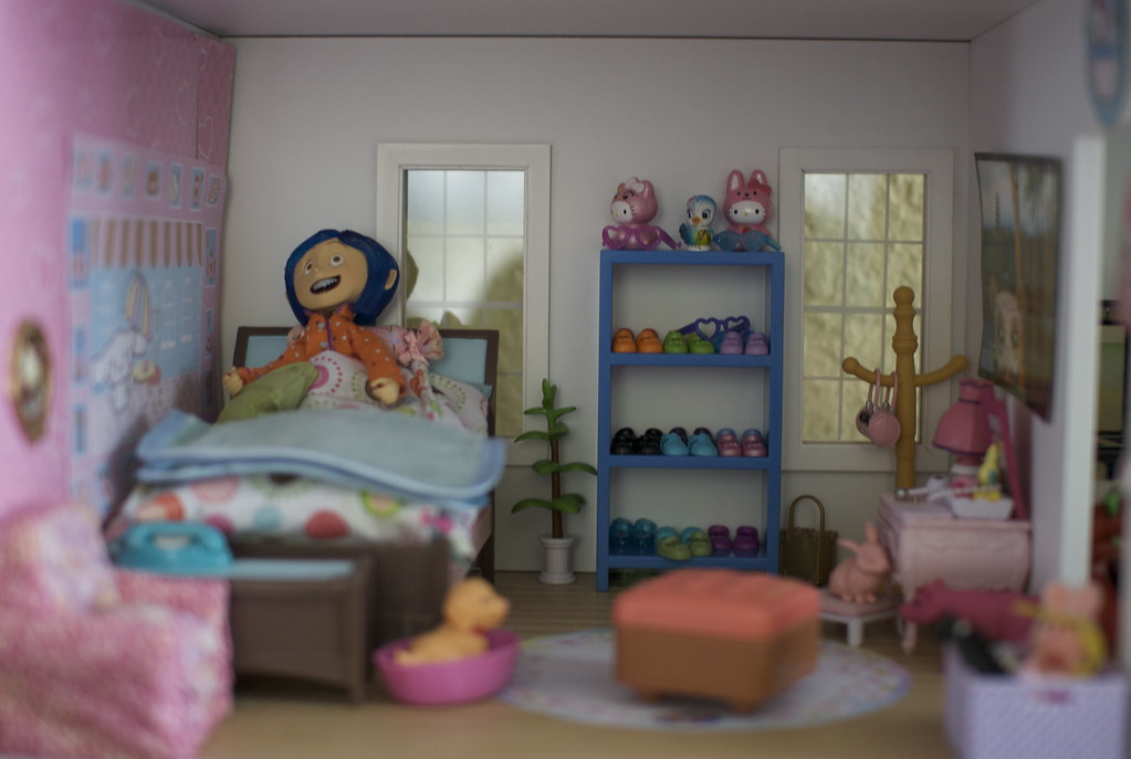 Coraline Fits In My Doll House Which Is Ironic Cuz I