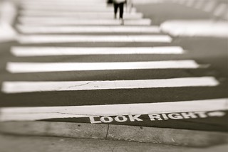 Look Right --> | by tarotastic