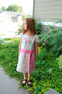 poppies linen dress2 | by meringuedesigns