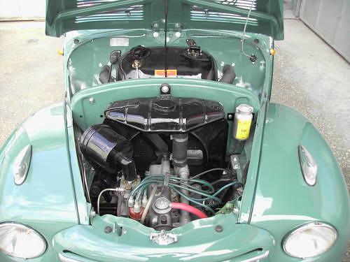 Fiat topolino engine