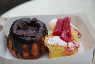 Microwave Rhubarb Cake Recipe