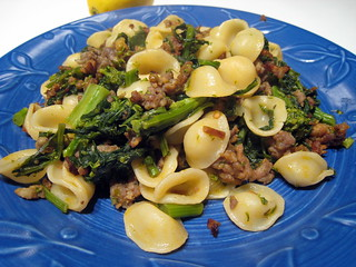 Orecchiette, Sausage and Broccoli Rabe | Flickr - Photo Sharing!