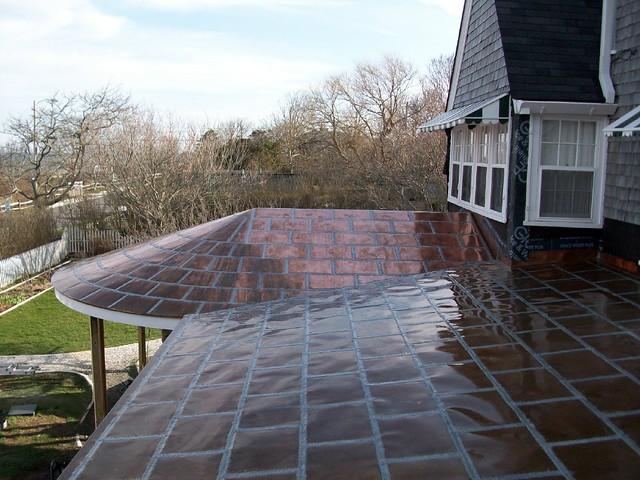 Nantucket Copper Roof Copper Flat Lock Roof On Nantucket