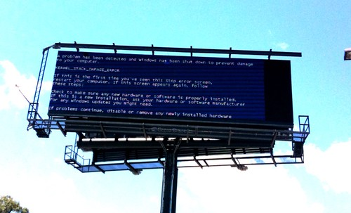 BSOD Billboard | by fancycwabs