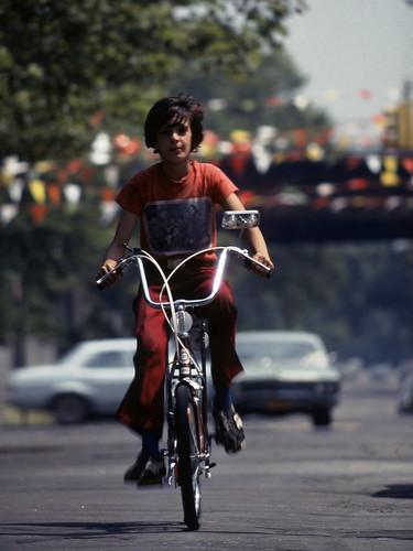 Block World Free >> John on Banana Seat Bicycle 1977 Brooklyn 70s Kodachrome | Flickr