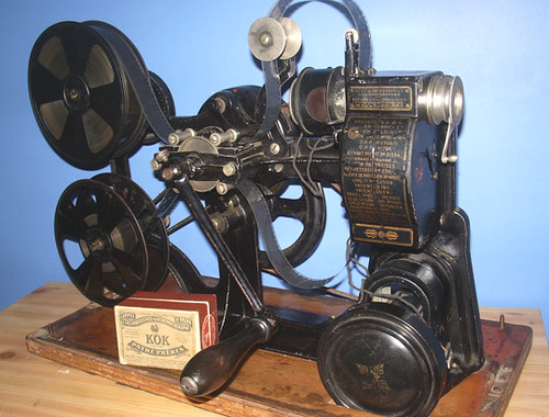 Pathe Kok 28mm projector 1912 | by Cinegraphic