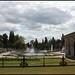 Fountains inside Hyde Park