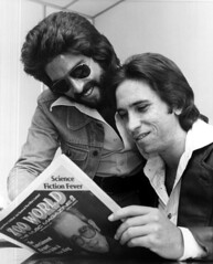 Kenny Loggins reading Zoo World music magazine with Jim Messina: Fort Lauderdale, Florida | by State Library and Archives of Florida