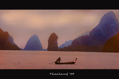 Sunset in Thailand | by Dan Apostol