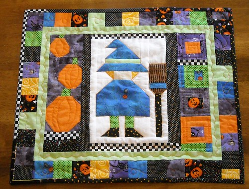 Halloween doll quilt | by vickivictoria