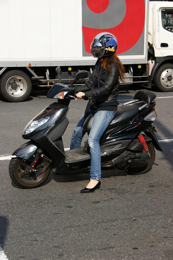 Scooter Girl  Girl On Scooter  Martin Abegglen  Flickr-6142