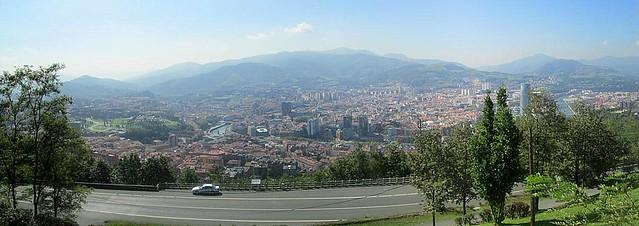 Bilbao from Aretxbaleta Bidea