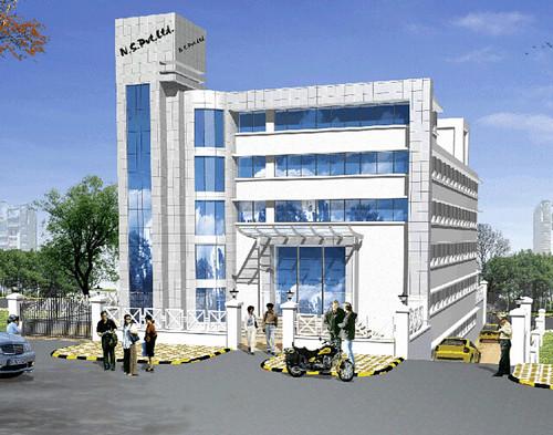 Navi Mumbai Commercial Building In Mahape Navi Mumbai Fo