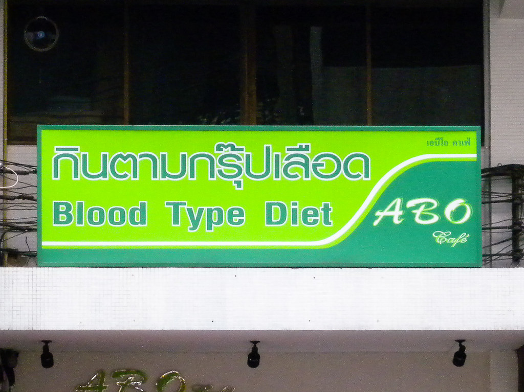 Blood Type Diet List Of Foods To Eat