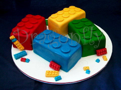 Lego Cake Images Black And White