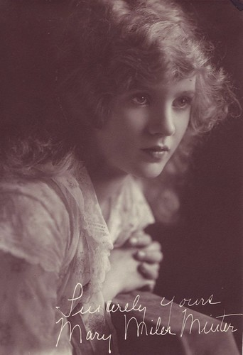 Mary Miles Minter, Sincerely yours | by Susie Bright