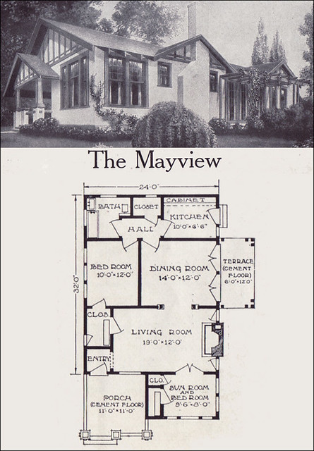 1921 aladdinette mayview here 39 s a scan of my new for American house plans free