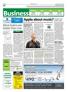 Metro News Business Section | by ScanLife