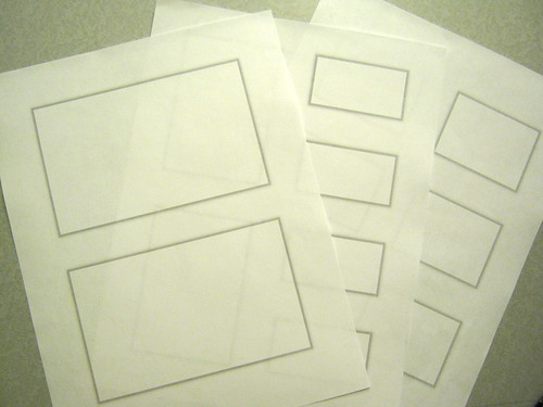 Paper wireframe templates | by Jason Robb