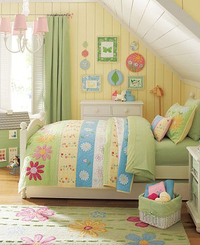 Pottery Barn Daisy Garden Bedroom For Further