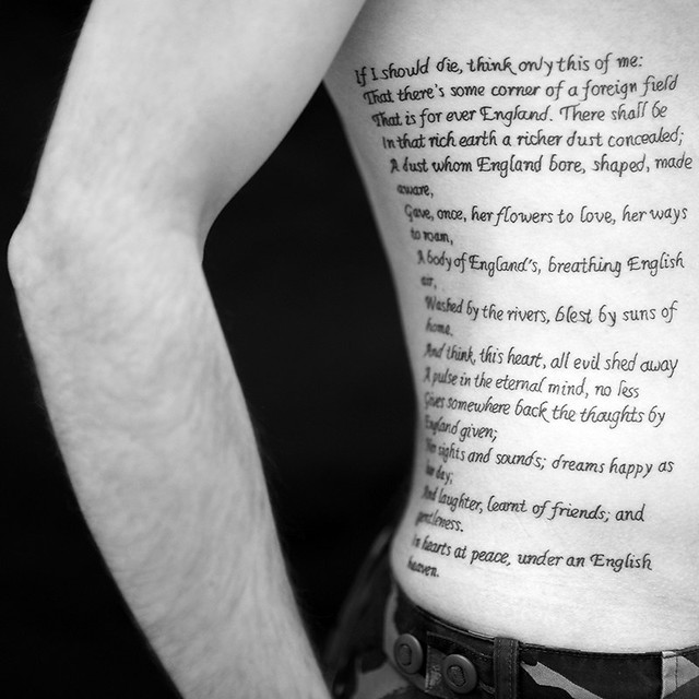 peace poem by rupert brooke