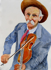 Fiddlin' Bill Hensley, mountain fiddler