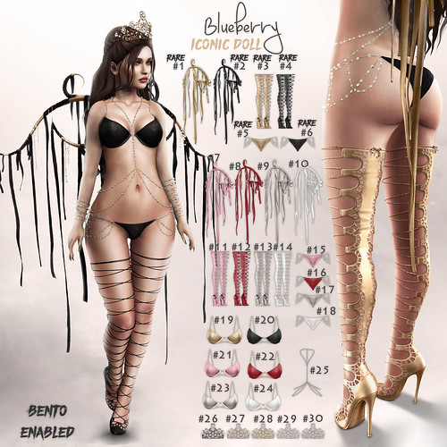 Blueberry - Iconic Doll / Arcade March