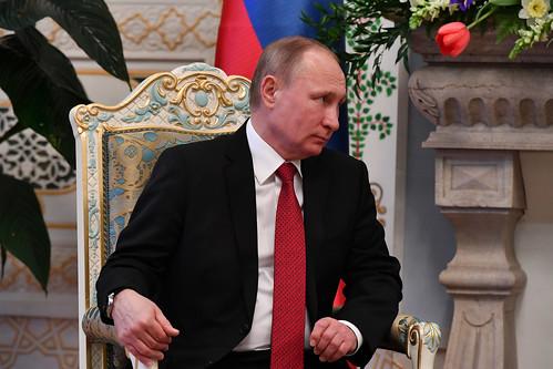 Мулоқоти хосса бо Президенти Федератсияи Россия Владимир Путин   27.02.2017