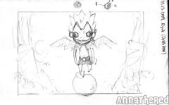 sketch for bento #41: Ryuk!