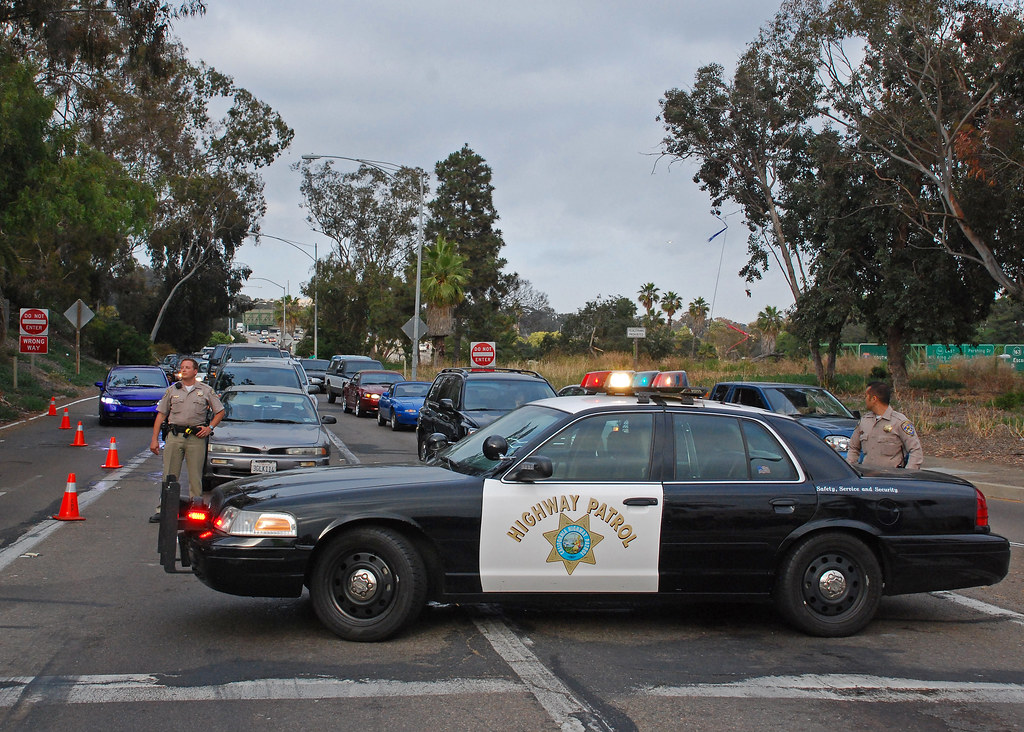 chp road closure in downtown san diego so cal metro flickr. Black Bedroom Furniture Sets. Home Design Ideas
