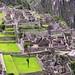 Peru - Machu Picchu - Blick auf das Handwerkerviertel und das Viertel der drei Türen, /4045