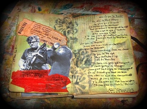 Moleskine art-journal 2009 p7 | by natou1