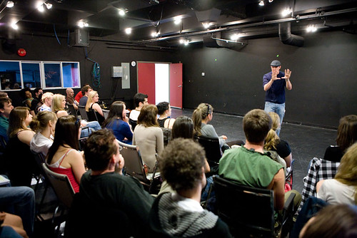 Matthew Lillard Leads a VFS Acting Alumni Workshop | by vancouverfilmschool