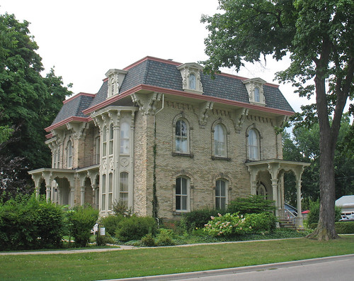 Amos Gould House Owosso Michigan This Substantial House